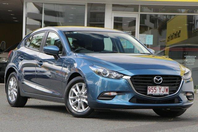 Used Mazda 3 BN5476 Neo SKYACTIV-MT Sport, 2018 Mazda 3 BN5476 Neo SKYACTIV-MT Sport Blue 6 Speed Manual Hatchback
