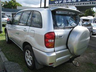 2003 Toyota RAV4 ACA20R Edge (4x4) Silver 5 Speed Manual 4x4 Wagon
