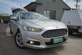 2017 Ford Mondeo MD Facelift Ambiente TDCi Silver 6 Speed Automatic Wagon.