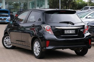 2016 Toyota Yaris NCP131R MY15 ZR Black 4 Speed Automatic Hatchback.