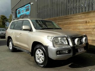2009 Toyota Landcruiser VDJ200R Sahara Gold 6 Speed Sports Automatic Wagon.
