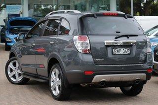 2011 Holden Captiva CG Series II 7 LX (4x4) Grey 6 Speed Automatic Wagon.