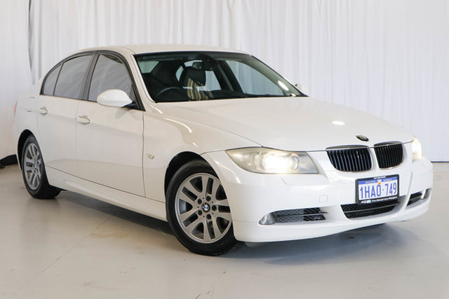 Used BMW 3 Series E90 320i Steptronic, 2007 BMW 3 Series E90 320i Steptronic White 6 Speed Automatic Sedan