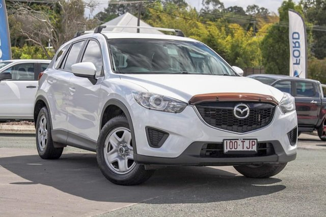Used Mazda CX-5 KE1071 MY14 Maxx SKYACTIV-Drive, 2013 Mazda CX-5 KE1071 MY14 Maxx SKYACTIV-Drive White 6 Speed Sports Automatic Wagon