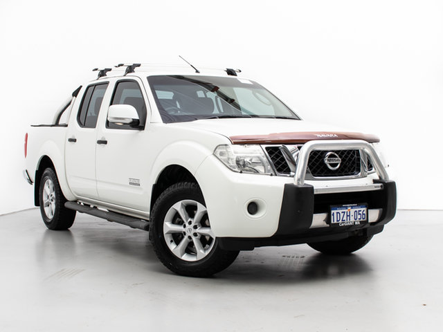 Used Nissan Navara D40 MY12 ST (4x4), 2012 Nissan Navara D40 MY12 ST (4x4) White 5 Speed Automatic Dual Cab Pick-up