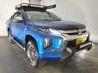 2020 Mitsubishi Triton MR MY20 GLS Double Cab Premium Blue 6 Speed Sports Automatic Utility.