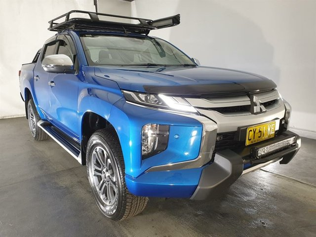 Used Mitsubishi Triton MR MY20 GLS Double Cab Premium, 2020 Mitsubishi Triton MR MY20 GLS Double Cab Premium Blue 6 Speed Sports Automatic Utility