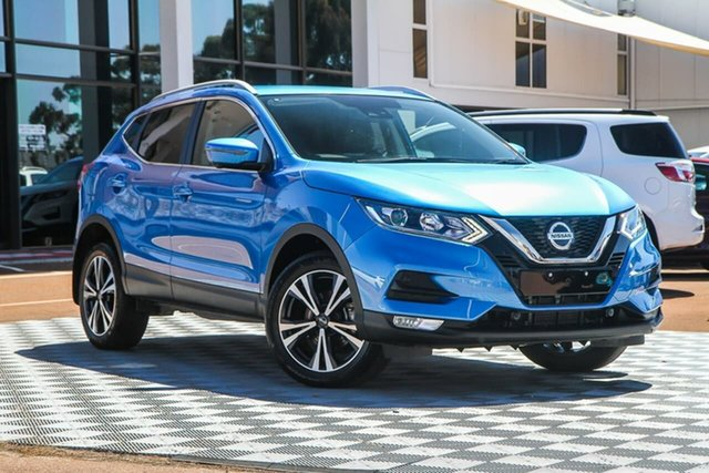 Used Nissan Qashqai J11 Series 2 ST-L X-tronic, 2019 Nissan Qashqai J11 Series 2 ST-L X-tronic Vivid Blue 1 Speed Constant Variable Wagon