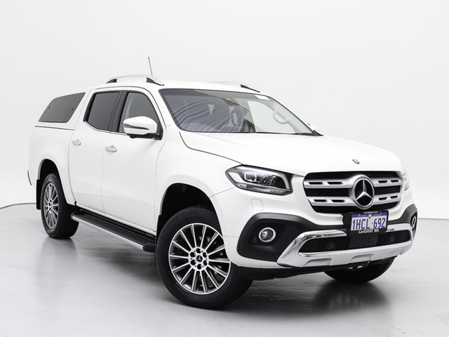 Used Mercedes-Benz X-Class 470 250d Power (4Matic), 2018 Mercedes-Benz X-Class 470 250d Power (4Matic) White 7 Speed Automatic Dual Cab Pick-up
