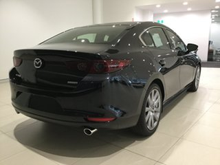 2020 Mazda 3 BP2SLA G25 SKYACTIV-Drive GT Jet Black 6 Speed Sports Automatic Sedan.