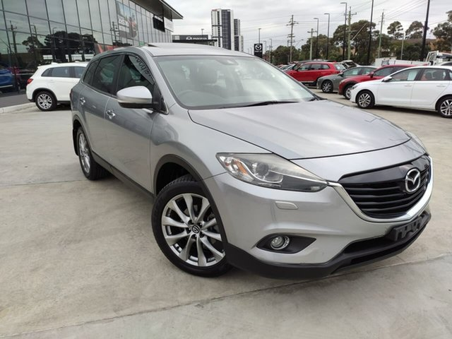 Used Mazda CX-9 TB10A5 Grand Touring Activematic AWD, 2014 Mazda CX-9 TB10A5 Grand Touring Activematic AWD Silver 6 Speed Sports Automatic Wagon
