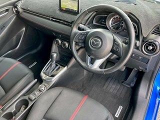 2014 Mazda 2 DJ2HAA Genki SKYACTIV-Drive Blue 6 Speed Sports Automatic Hatchback.