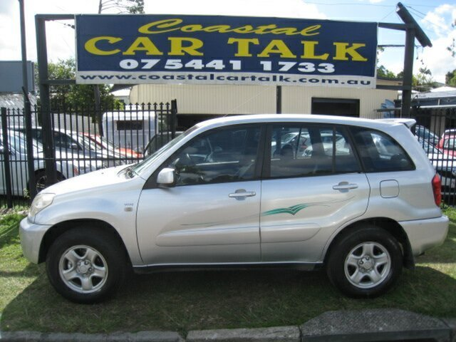 Used Toyota RAV4 ACA20R Edge (4x4), 2003 Toyota RAV4 ACA20R Edge (4x4) Silver 5 Speed Manual 4x4 Wagon
