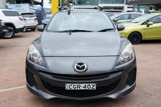 2012 Mazda 3 BL 11 Upgrade Neo Grey 6 Speed Manual Hatchback