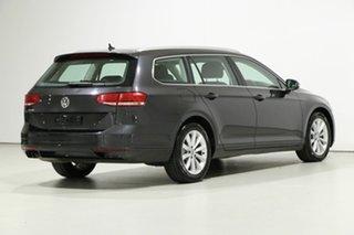 2018 Volkswagen Passat 3C MY18.5 132 TSI Comfortline Grey 7 Speed Auto Direct Shift Wagon