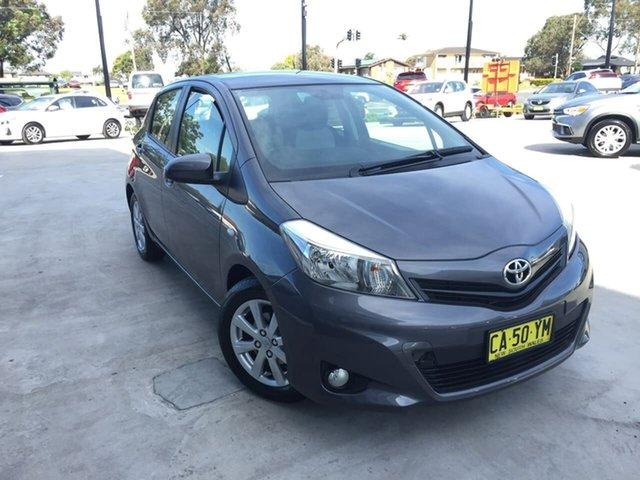Used Toyota Yaris NCP131R YRX, 2014 Toyota Yaris NCP131R YRX Grey 4 Speed Automatic Hatchback