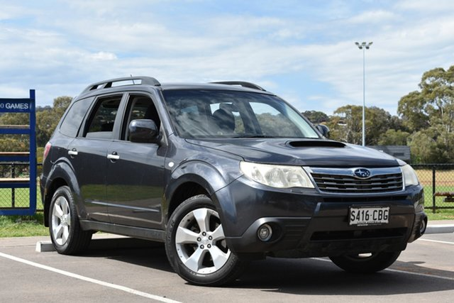 Used Subaru Forester S3 MY09 XT AWD, 2009 Subaru Forester S3 MY09 XT AWD Grey 5 Speed Manual Wagon