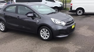 2016 Kia Rio UB MY16 S Brown 4 Speed Sports Automatic Hatchback.