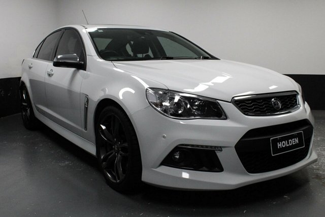 Used Holden Special Vehicles Senator Gen-F MY15 Signature, 2015 Holden Special Vehicles Senator Gen-F MY15 Signature White 6 Speed Sports Automatic Sedan