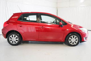 2007 Toyota Corolla ZZE122R 5Y Ascent Red 4 Speed Automatic Hatchback.