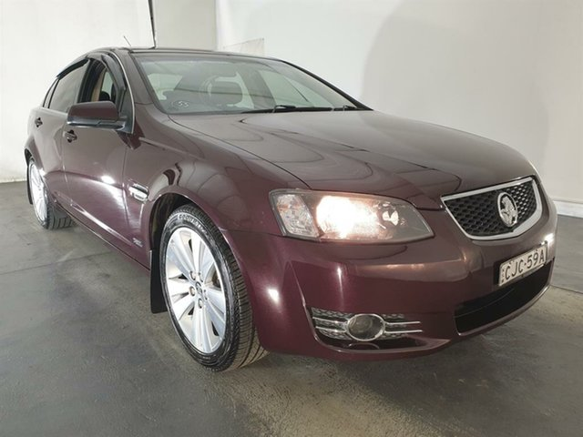 Used Holden Commodore VE II MY12.5 Z Series, 2012 Holden Commodore VE II MY12.5 Z Series Burgundy 6 Speed Sports Automatic Sedan