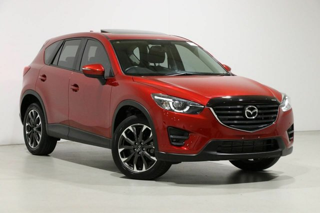 Used Mazda CX-5 MY17 GT (4x4), 2016 Mazda CX-5 MY17 GT (4x4) Soul Red 6 Speed Automatic Wagon