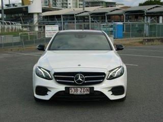 2017 Mercedes-Benz E200 213 White 9 Speed Automatic G-Tronic Sedan.