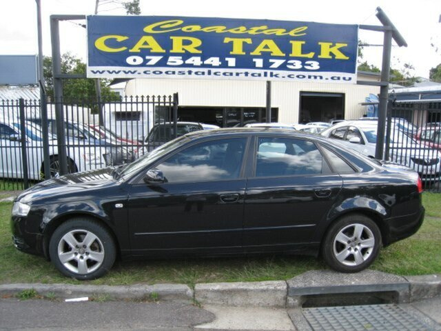 Used Audi A4 B7 2, 2007 Audi A4 B7 2.0 Black CVT Multitronic Sedan