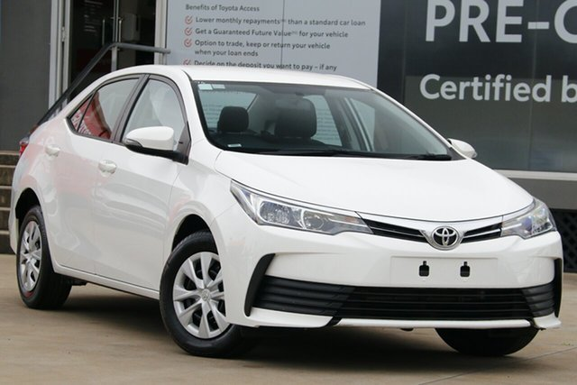 Used Toyota Corolla ZRE172R MY17 Ascent, 2019 Toyota Corolla ZRE172R MY17 Ascent Glacier White 7 Speed CVT Auto Sequential Sedan
