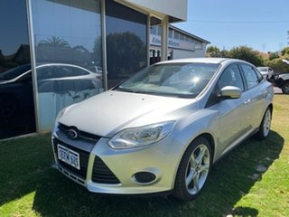 2013 Ford Focus LW MK2 Ambiente Sedan Silver 6 Speed Sedan.