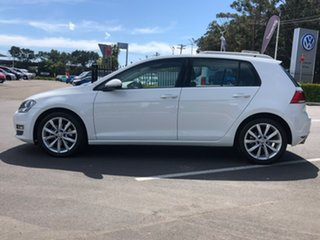 2014 Volkswagen Golf VII MY15 103TSI DSG Highline White 7 Speed Sports Automatic Dual Clutch