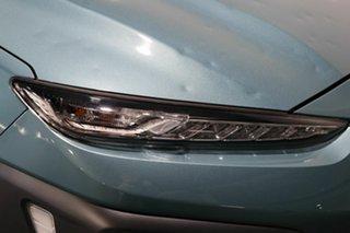 2019 Hyundai Kona OS.2 MY19 Highlander D-CT AWD Blue 7 Speed Sports Automatic Dual Clutch Wagon