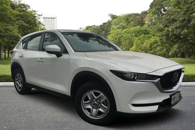 Demo Mazda CX-5 KF4WLA Maxx SKYACTIV-Drive i-ACTIV AWD, 2020 Mazda CX-5 KF4WLA Maxx SKYACTIV-Drive i-ACTIV AWD White Pearl 6 Speed Sports Automatic Wagon