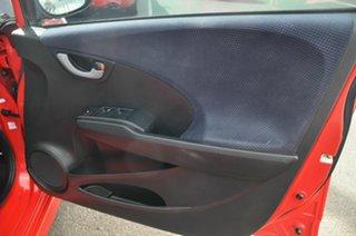 2013 Honda Jazz GE MY12 VTi Red 5 Speed Automatic Hatchback