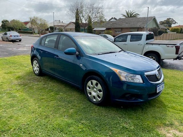 Used Holden Cruze JH MY12 CD, 2012 Holden Cruze JH MY12 CD Chlorophyll 6 Speed Automatic Hatchback