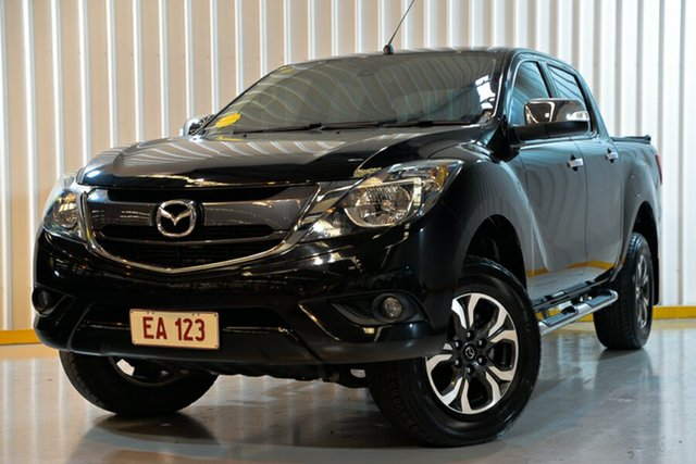 Used Mazda BT-50 MY16 GT (4x4), 2017 Mazda BT-50 MY16 GT (4x4) Black 6 Speed Automatic Dual Cab Utility