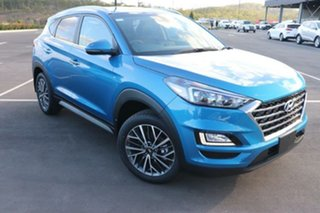 2020 Hyundai Tucson TL3 MY21 Elite 2WD Aqua Blue 6 Speed Automatic Wagon.
