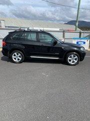 2009 BMW X5 E70 MY10 xDrive30d Steptronic Black 6 Speed Sports Automatic Wagon.