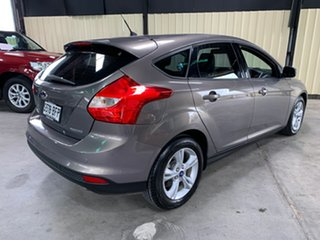 2014 Ford Focus LW MkII Trend PwrShift Silver 6 Speed Automatic Hatchback.
