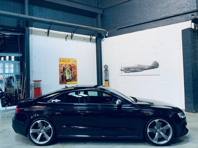 Used Audi RS5 8T MY11 Limited Edition S Tronic Quattro, 2011 Audi RS5 8T MY11 Limited Edition S Tronic Quattro Black 7 Speed Sports Automatic Dual Clutch