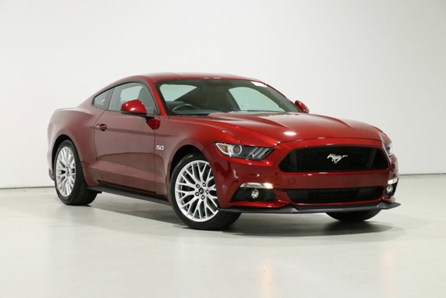 Used Ford Mustang FM MY17 Fastback GT 5.0 V8, 2017 Ford Mustang FM MY17 Fastback GT 5.0 V8 Ruby Red 6 Speed Automatic Coupe