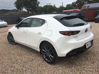 2020 Mazda 3 BP2H7A G20 SKYACTIV-Drive Evolve White Pearl 6 Speed Sports Automatic Hatchback