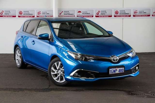 Used Toyota Corolla ZRE182R MY17 Ascent Sport, 2017 Toyota Corolla ZRE182R MY17 Ascent Sport Blue Gem 7 Speed CVT Auto Sequential Hatchback