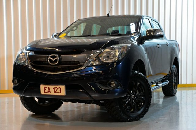 Used Mazda BT-50 UR0YG1 GT, 2016 Mazda BT-50 UR0YG1 GT Blue 6 Speed Sports Automatic Utility