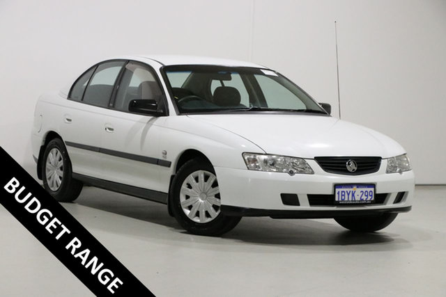 Used Holden Commodore VY Executive, 2003 Holden Commodore VY Executive White 4 Speed Automatic Sedan