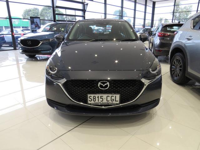 Demo Mazda 2 DJ2HAA G15 SKYACTIV-Drive Pure, 2020 Mazda 2 DJ2HAA G15 SKYACTIV-Drive Pure Polymetal Grey 6 Speed Sports Automatic Hatchback