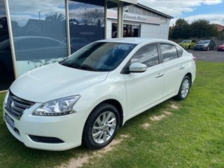 2015 Nissan Pulsar B17 ST White Continuous Variable Sedan.