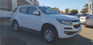 2018 Holden Trailblazer RG MY19 LT (4x4) Summit White 6 Speed Automatic.