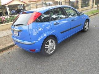 2002 Ford Focus LR MY2003 Zetec Blue 4 Speed Automatic Hatchback