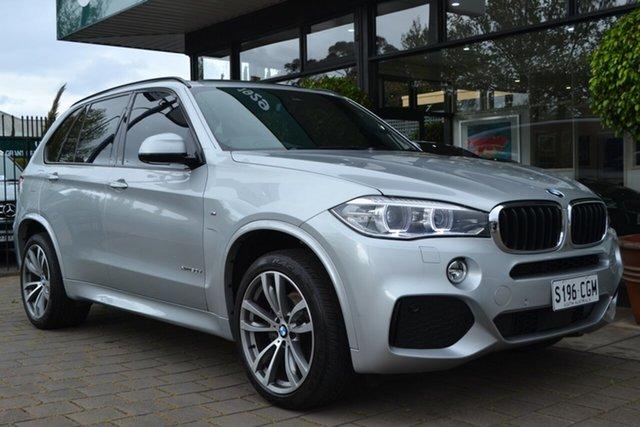 Used BMW X5 F15 xDrive30d, 2016 BMW X5 F15 xDrive30d Silver 8 Speed Sports Automatic Wagon